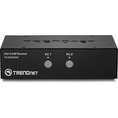 TRENDnet – Ensemble de commutateurs DVI et KVM, 2 ports