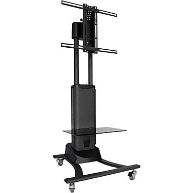 Atdec Telehook Mobile Cart, Black/Charcoal Gray