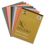 """Hilroy Heavyweight Construction Paper Pad, 12"""" x 9"""", Assorted, 48 Sheets"""