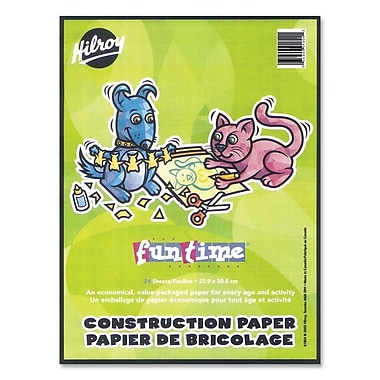 Hilroy Lightweight Construction Paper Pads, 9