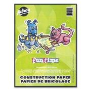 "Hilroy Lightweight Construction Paper Pads, 9"" x 12"", Assorted"