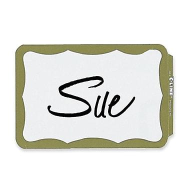 C-Line Full Self-Adhesive Name Badges, 2.25