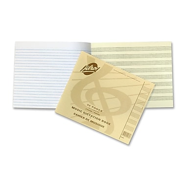 Hilroy Stitched Music Dictation Exercise Book, 7.38