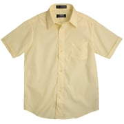 French Toast Short Sleeve Dress Shirt with Expandable Collar, Size 20