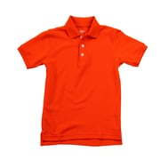 French Toast Cotton Polyester Short Sleeve Pique Polo 14, Orange