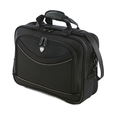 Olympia Polyester Business Laptop Carrying Holder Bag Storage Case in Black 13