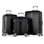 "Olympia ABS Corsair 3 Piece Hardcase Set, 21"", 25"" & 29"", Black"
