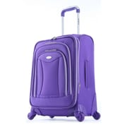 Olympia Luxe Expandable Carry On Upright Bag 21, Plum