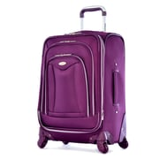 Olympia Luxe Expandable Carry On Upright Bag 21, Deep Purple