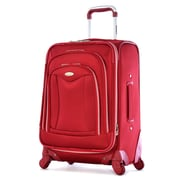 Olympia Luxe Expandable Carry On Upright Bag 21, Red