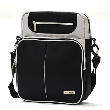 Olympia Polyester Laptop Messenger Bag 13.5in.