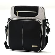 Olympia Polyester Laptop Messenger Bag 13.5, Black