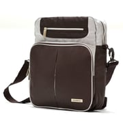 Olympia Polyester Laptop Messenger Bag 13.5, Brown