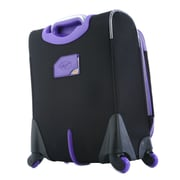 Olympia Polyester O-Tron Spinner Suitcase 30, Purple