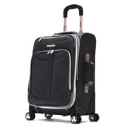 Olympia Polyester Tuscany Expandable Airline Carry-On Black