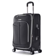 "Olympia Polyester Tuscany Expandable Vertical Rolling Case 25"", Black"