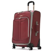 Olympia Polyester Tuscany Expandable Airline Carry-On Red