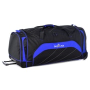 Olympia Rolling Duffel Mammoth, Black/Royal Blue