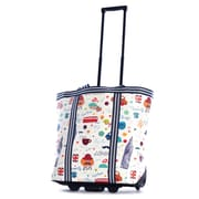 Olympia PE Tarpaulin Rolling Shopper Tote 19, London