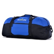 Olympia Polyester Luggage Sports Duffel Bag 30, Royal Blue