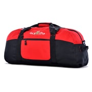 """Olympia Polyester Luggage Sports Duffel Bag 30"""", Red"""