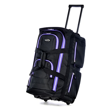 Olympia Supreme Polyester 2 Wheeled Duffel 22