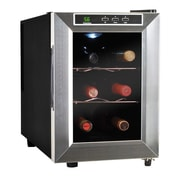 Vinotemp 6 Bottle Single Zone Thermoelectric Wine Refrigerator; 1 Year