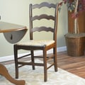 Carolina Cottage American Oak Vienna Ladder Side Chair