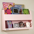 Tidy Books Bunk Bed 13.2'' Book Display; Pink
