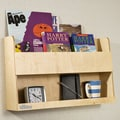Tidy Books Bunk Bed 13.2'' Book Shelf; Natural