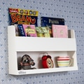 Tidy Books Bunk Bed 13.2'' Book Display; White