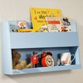 Tidy Books Bunk Bed 13.2'' Book Shelf; Blue
