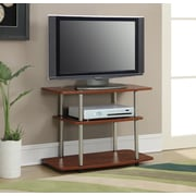 Convenience Concepts Designs 2 Go 32'' TV Stand; Cherry