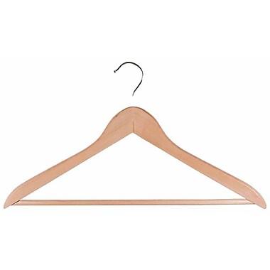 Neatfreak® Regular Hook Type Wooden Suit Hanger, Natural
