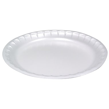 Pactiv White Bread and Butter Plate, 6
