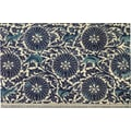 Belle Banquet Blue Swirls Placemat (Set of 6)