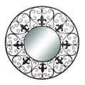 Woodland Imports Metal Wall Mirror