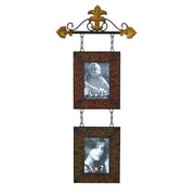 Woodland Imports Metal Hanging Picture Frame
