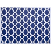 di Potter Reversible Placemat (Set of 24); Navy