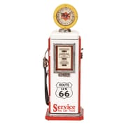 Woodland Imports Gas Pump Tabletop Clock