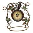 Woodland Imports Grape Vine Tabletop Clock