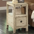 Coast to Coast Imports Carolina Preserves End Table; Southern Shores Sand Rub