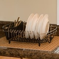 Drymate Bamboo Weave Kitchen Dry Placemat; Tan