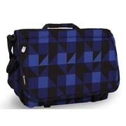 J World Thomas Block Messenger Bag; Navy