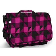 J World Thomas Block Messenger Bag; Pink