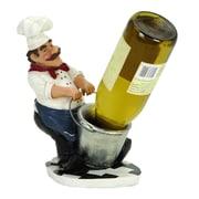 Woodland Imports Chef 1 Bottle Tabletop Wine Holder