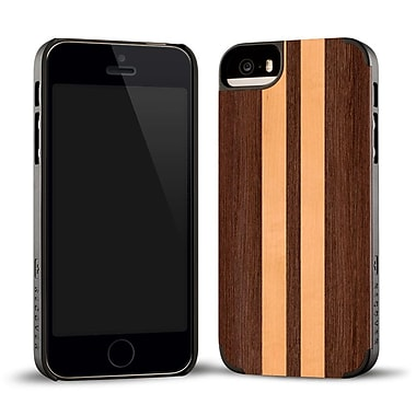 Recover Case for iPhone 5, 5S, WNGEBLK5 Wenge/Maple