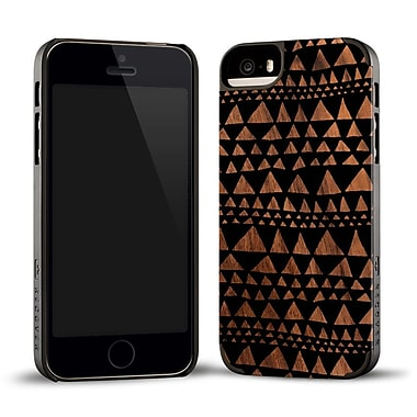 Recover Case for iPhone 5/5S, BLKTRIWLNT5 Triangle Wood