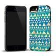 Recover Case for iPhone 5/5s Bamboo/Black, BLUTRIBMBO5 Triangle Wood
