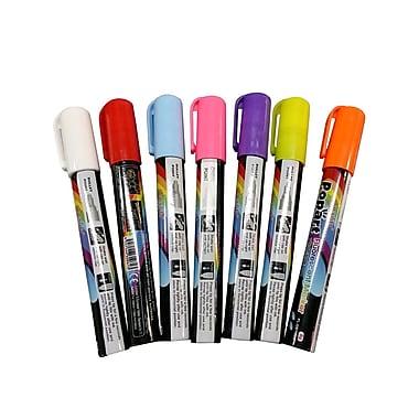 Popart - Marqueurs fluorescents effaçables à l'eau
